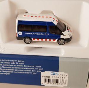 【送料無料】模型車 モデルカー スポーツカー フォードトランジットスペインrietze ford transit mossos desquadra spanien esp 187 h0 50733