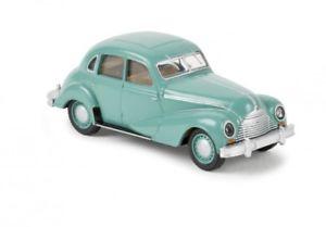 【送料無料】模型車 モデルカー スポーツカー ターコイズトルコ187 brekina emw 340 trkis 27305
