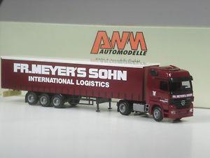 【送料無料】模型車 モデルカー スポーツカー sonderpreis awm mercedes actros sattelzug fr meyer s sohn logistics in ovp