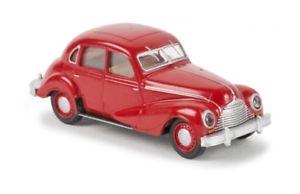 【送料無料】模型車 モデルカー スポーツカー レッド187 brekina emw 340 rot 27304
