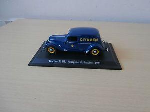 【送料無料】模型車 モデルカー スポーツカー traction 11 blfourgonnette danoise1951 143e