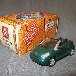 【送料無料】模型車 モデルカー スポーツカー アシェットヴェール117e norev hachette citron c3 pluriel 2003 vert 143
