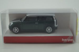 H0: Mini Cooper Clubman OVP Herpa 033800 NEU metallic