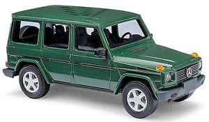 【送料無料】模型車 モデルカー スポーツカー メルセデスベンツクラスグリーングリーンブッシュmercedes benz g class w463 suv 19902001 grn green 187 busch