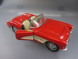 【送料無料】模型車 モデルカー スポーツカー シボレーコルベットスケールburagochevrolet corvette 1957, 124 scale   ssk42