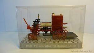【送料無料】模型車 モデルカー スポーツカー 140 feuerspritze mit daimler motor 1896 in ovp 25980