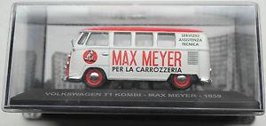 【送料無料】模型車 モデルカー スポーツカー ホワイトレッドマイヤーモデルカー1959 vw t1 kombi weirot max meyer 143 neuovp modellauto
