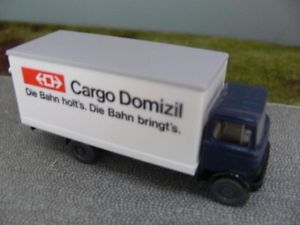 【送料無料】模型車 モデルカー スポーツカー カーゴドミツィルスイス187 wiking mb cargo domizil ch ssb schweiz