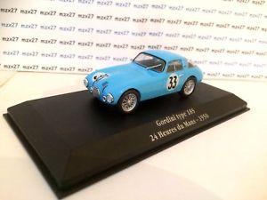 【送料無料】模型車 モデルカー スポーツカー タイプルマン#アトラスvoiture saga gordini type 18 s 33 24 heures du mans 1950 143 eligor atlas
