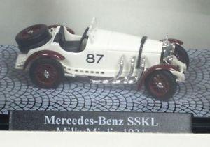 【送料無料】模型車 モデルカー スポーツカー メルセデスミッレミリアブッシュ187 mercedes sskl mille miglia 1931 busch 48303 neu ovp