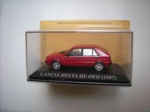 【送料無料】模型車 モデルカー スポーツカー ランチアデルタ143 lancia delta hf 4 wd 1987