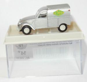 【送料無料】模型車 モデルカー スポーツカー マイクロホシトロエンボックスmicro brekina ho 187 citroen 2cv fourgonnette huile yacco ref 14139 in box