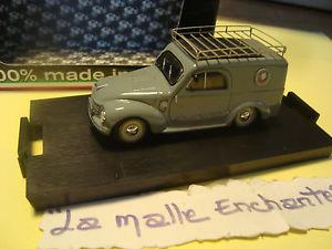 【送料無料】模型車 モデルカー スポーツカー ミニチュアフィアットイタリアminiature fiat 1100 furgone la poste italie 143 neuve brumm made in italy