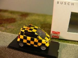 BUSCH 46128 SMART FORTWO 07 FOLLOW ME 1:87