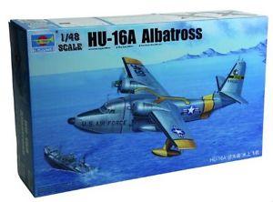 【送料無料】模型車 モデルカー スポーツカー アルバトロスプラスチックモデルキットgrumman hu16a albatross flying boat stormo sar plastic kit 148 model