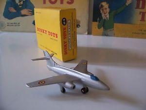 【送料無料】模型車 モデルカー スポーツカー avion vautour dinky toys n 60b boite dorigine