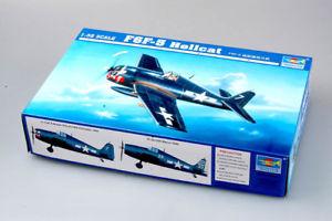 【送料無料】模型車 モデルカー スポーツカー トランペッターtrumpeter f6f5 hellcat 132 02257