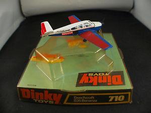 【送料無料】模型車 モデルカー スポーツカー ヌフdinky toys gb 710 avion beechcraft s35 bonanza neuf en boite mib