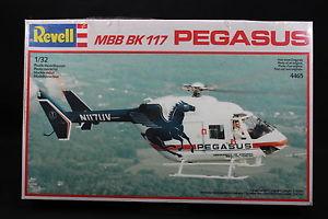 【送料無料】模型車 モデルカー スポーツカー ペガサスxq013 revell 132 maquette helicoptere 4465 mbb mb 117 pegasus anne 1988