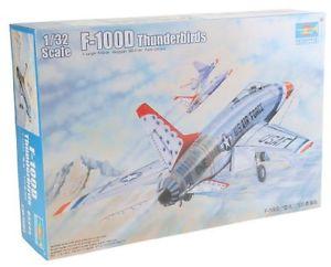 【送料無料】模型車 モデルカー スポーツカー ファイタープラスチックモデルキットタミヤf100 d thunderbirds fighter 132 plastic model kit trumpeter