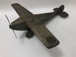 【送料無料】模型車 モデルカー スポーツカー ビンテージスチールクラフトスカウトvintage steelcraft nx107 army scout plane 1920s rare
