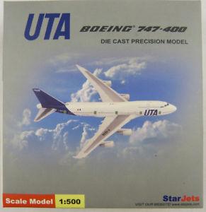 【送料無料】模型車 モデルカー スポーツカー ボーイングジェットスターboeing 747400 uta fgexa star jets sjuta043 1500 in ovp [js]
