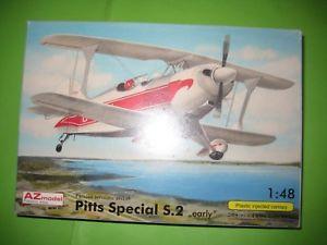 【送料無料】模型車 モデルカー スポーツカー モデルpitts special s2 by az model 148 ref4837