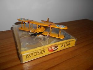【送料無料】模型車 モデルカー スポーツカー ビンテージエスパーニャneues angebotvintage playme avion metal spad xiii ref104 aviones planes made in espana