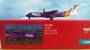 【送料無料】模型車 モデルカー スポーツカー herpa wings 531368 flybe atr72500 gislk