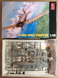 【送料無料】模型車 モデルカー スポーツカー ホビークラフトプラスチックキットヌオーヴォhobby craft hc1553 p35a wwii fighter 148 plastic kit nuovo