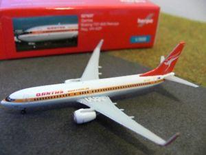 【送料無料】模型車 モデルカー スポーツカー ボーイングカンタス1500 herpa boeing 737800 qantas retrojet regvhxzp 527637