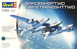 【送料無料】模型車 モデルカー スポーツカー ヴァージンギャティックスケールvirgin galactic spaceshiptwo amp; white knight two sc 1144 revell 04842