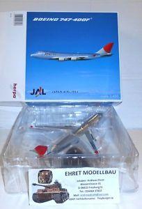 【送料無料】模型車 モデルカー スポーツカー ボーイングプライベートコレクションjal boeing 747400f in 1400 herpa wings 561327 privatsammlung xiii neu
