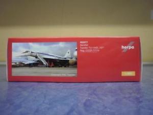 【送料無料】模型車 モデルカー スポーツカー アエロフロートツポレフherpa wings 1400 tupolev tu144 aeroflot cccp77107