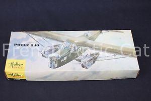 【送料無料】模型車 モデルカー スポーツカー ミュゼheller muse 172 rare maquette avion potiez 540 l395 gnral denain