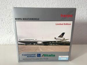【送料無料】模型車 モデルカー スポーツカー ドンネルコンチネンタルアリタリアherpa wings 1500 mc donnell douglas dc1030 continentalalitalia 510998