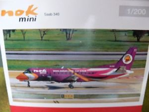【送料無料】模型車 モデルカー スポーツカー ミニサーブパープル1200 herpa nok mini saab 340 purple 555982