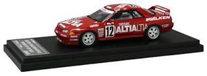 【送料無料】模型車 モデルカー スポーツカー スカイラインrアルティアホークス#レーシングnissan skyline gtr r32 altia falken 12 1992 hpi racing 143 8138