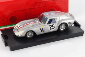 【送料無料】模型車 モデルカー スポーツカー フェラーリ#ルマンハムferrari 250 gto 25 24h lemans 1963 dumay dernier 143 brumm