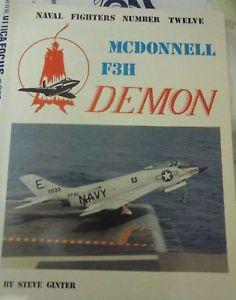 【送料無料】模型車 モデルカー スポーツカー ドンネルデーモンスティーブmc donnell f3h demonnaval fighters n12 by ginter steve 1st edition1982