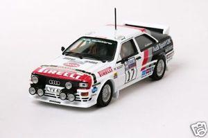 【送料無料】模型車 モデルカー スポーツカー アウディクワトロ#ラリーaudi quattro 17 wilsongreasley rac rally 1982 vitesse 143 42057