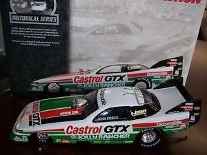 【送料無料】模型車 モデルカー スポーツカー ジョンフォースjohn force 1990 castrol gtx historical olds funny car nhra