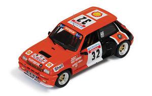【送料無料】模型車 モデルカー スポーツカー ルノーターボツールドコルスラリー143 renault 5 turbo  balesi rallye tour de corse 1986 rac 124