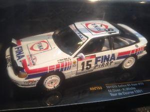 【送料無料】模型車 モデルカー スポーツカー ネットワークトヨタセリカグアテマラフィナ#ツールドコルスラリーボックスixo rac153 toyota celica gtfour fina 15 tour de corse rally 1991 duez 143 box