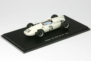 【送料無料】模型車 モデルカー スポーツカー クーパークライマックスシャープフォーミュラアメリカスパークcooper t53 climax sharp formel 1 us gp 1962 143 spark 3516