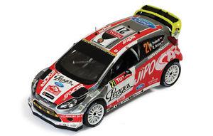 【送料無料】模型車 モデルカー スポーツカー フォードフィエスタマーティンプロコプモンテカルロラリー143 ford fiesta rs wrc martin prokop rallye monte carlo 2012 ram 499