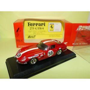 【送料無料】模型車 モデルカー スポーツカー フェラーリルマンベストアブドferrari 275 gtb n59 le mans 1969 best 9135 143 abd