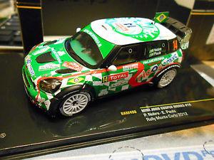 【送料無料】模型車 モデルカー スポーツカー ミニジョンクーパーモンテカルロラリー#ブラジルネットワークmini bmw cooper john works wrc rallye monte carlo 2012 14 nobre brasi ixo 143