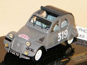 【送料無料】模型車 モデルカー スポーツカー シトロエンラリードモンテカルロネットワークcitroen 2cv rally de montecarlo 1954 n 319 ixo 143 ref rac214