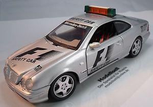 【送料無料】模型車 モデルカー スポーツカー メルセデスベンツスケールセーフティカーモデルカーmercedes benz clk amg safety car f1 von anson im mastab 118 modellauto